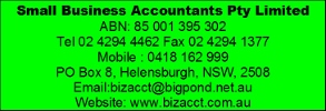 2016 supporter small business accountants